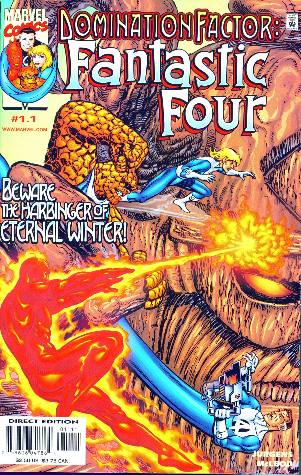 Domination Factor: Fantastic Four 1 Page 1