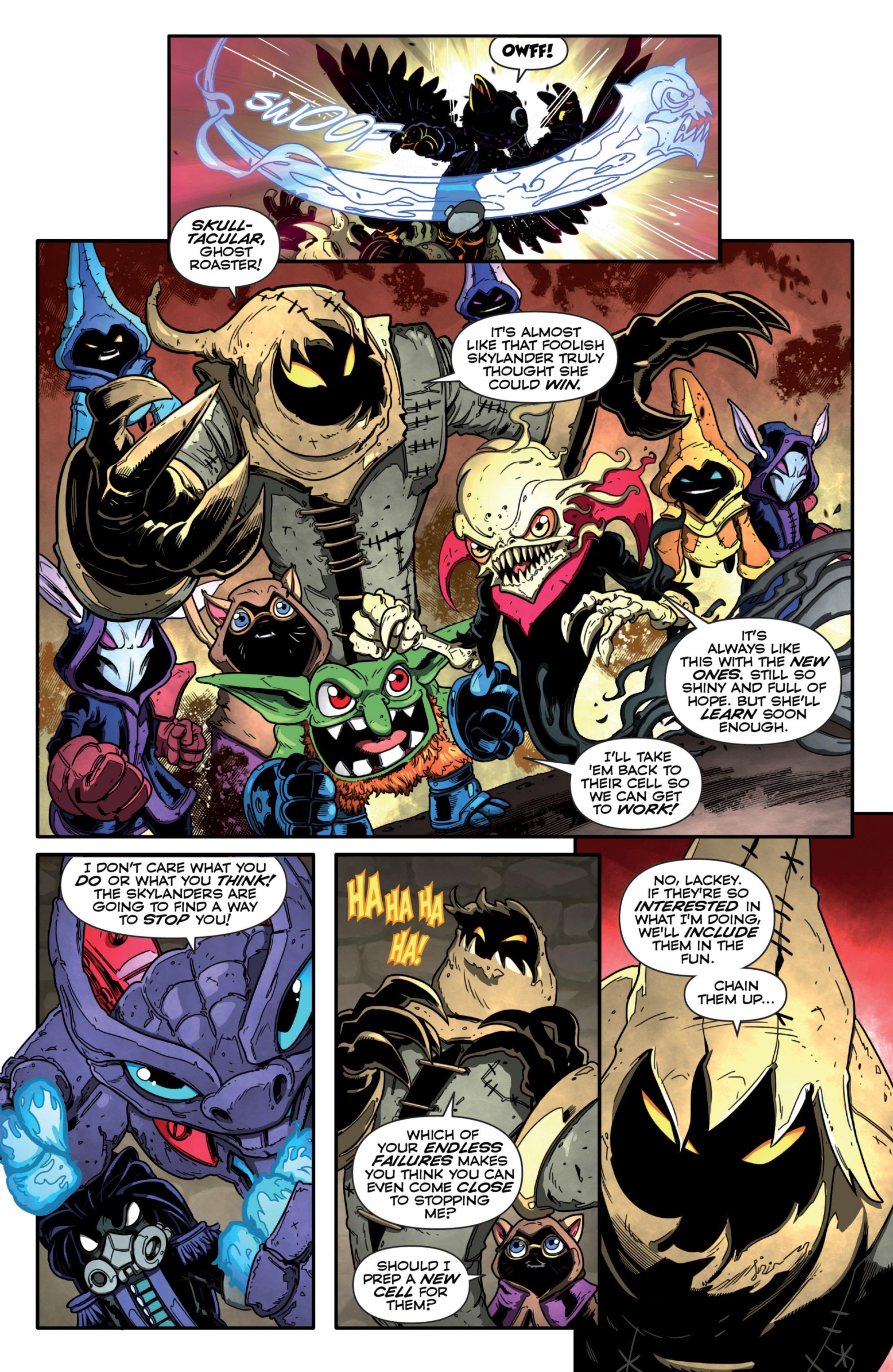 Read online Skylanders Superchargers comic -  Issue #2 - 17