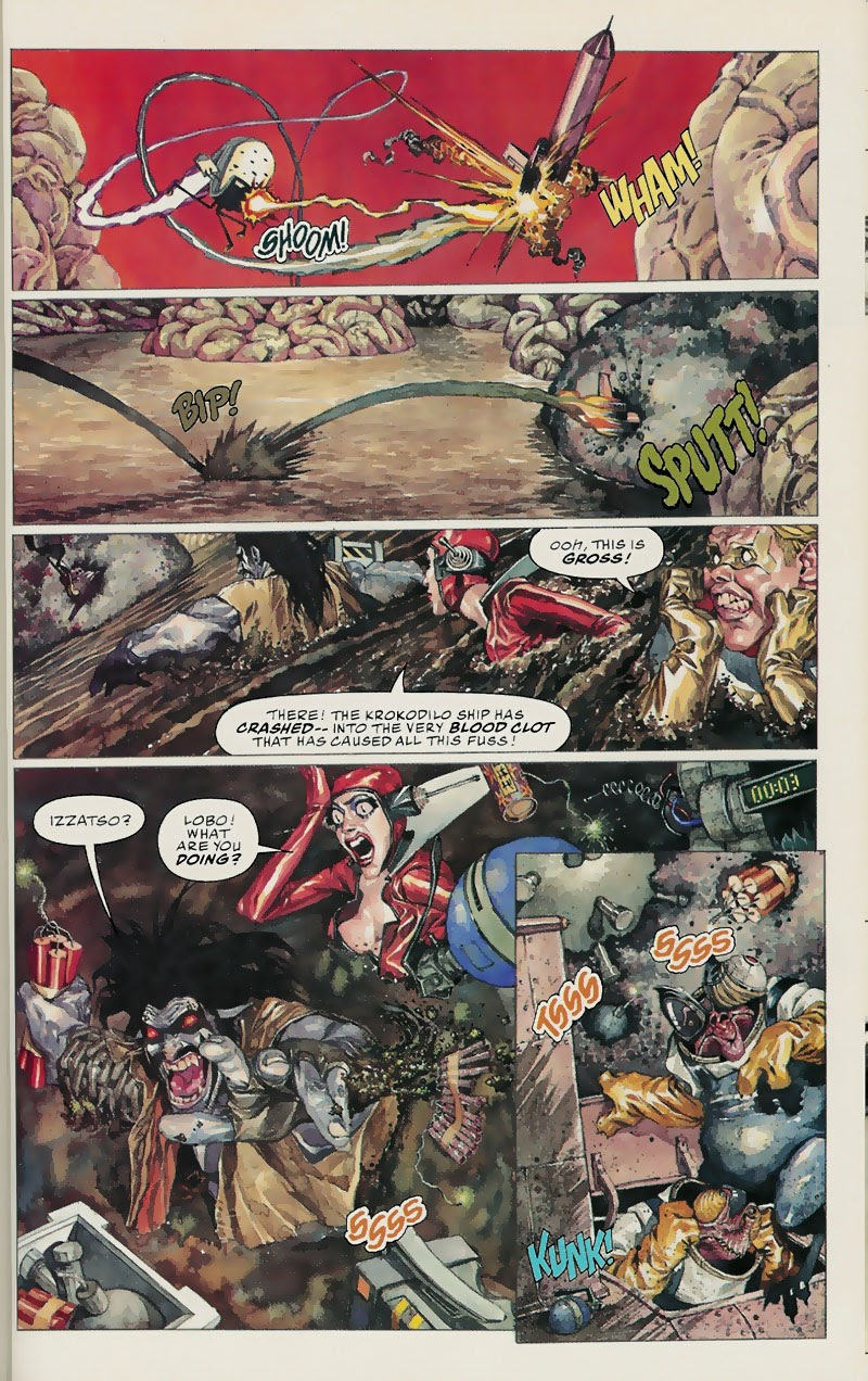 Lobo: Fragtastic Voyage issue Full - Page 38