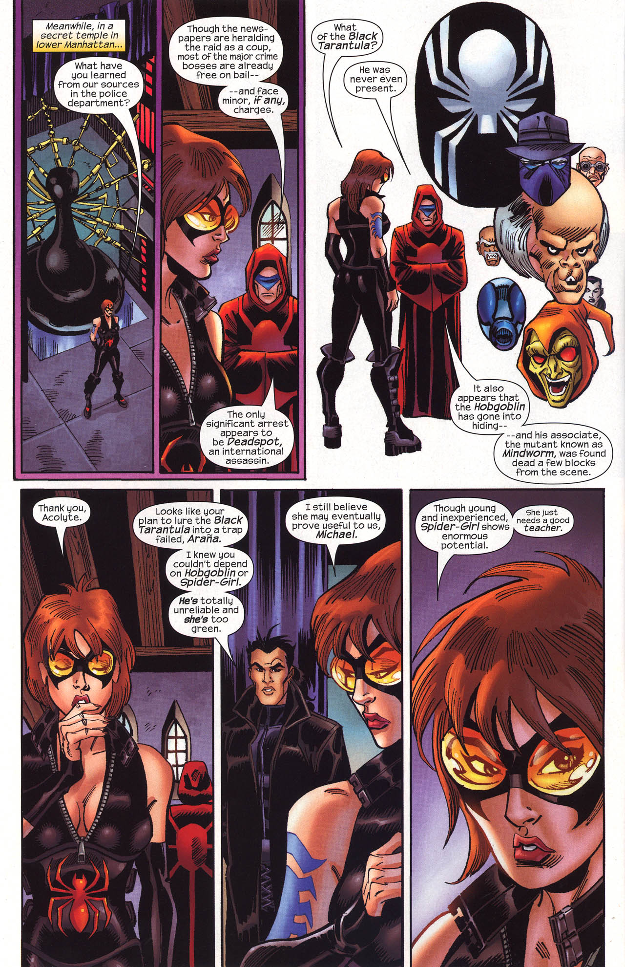 Read online Amazing Spider-Girl comic -  Issue #19 - 7