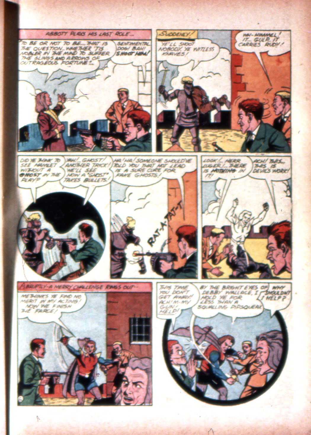 Read online Sensation (Mystery) Comics comic -  Issue #20 - 37
