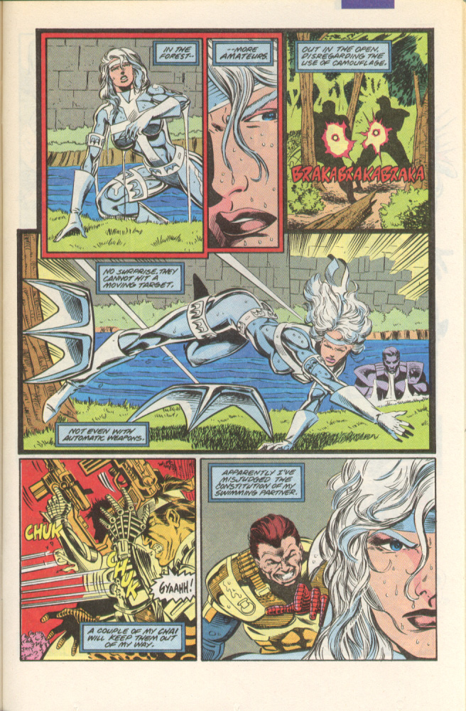 Read online Silver Sable and the Wild Pack comic -  Issue #1 - 4