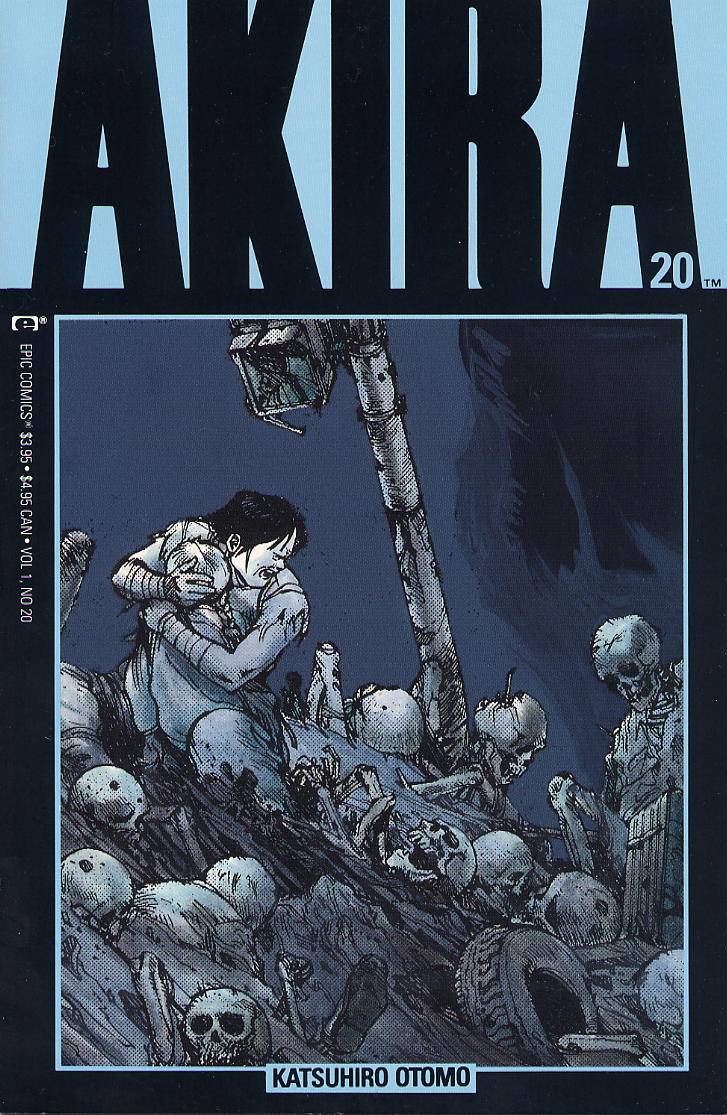 Read online Akira comic -  Issue #20 - 1