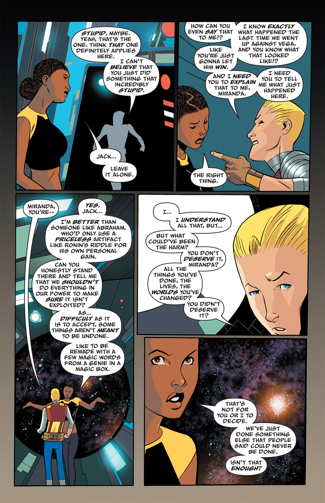 Read online The Many Adventures of Miranda Mercury: Time Runs Out comic -  Issue # TPB - 34