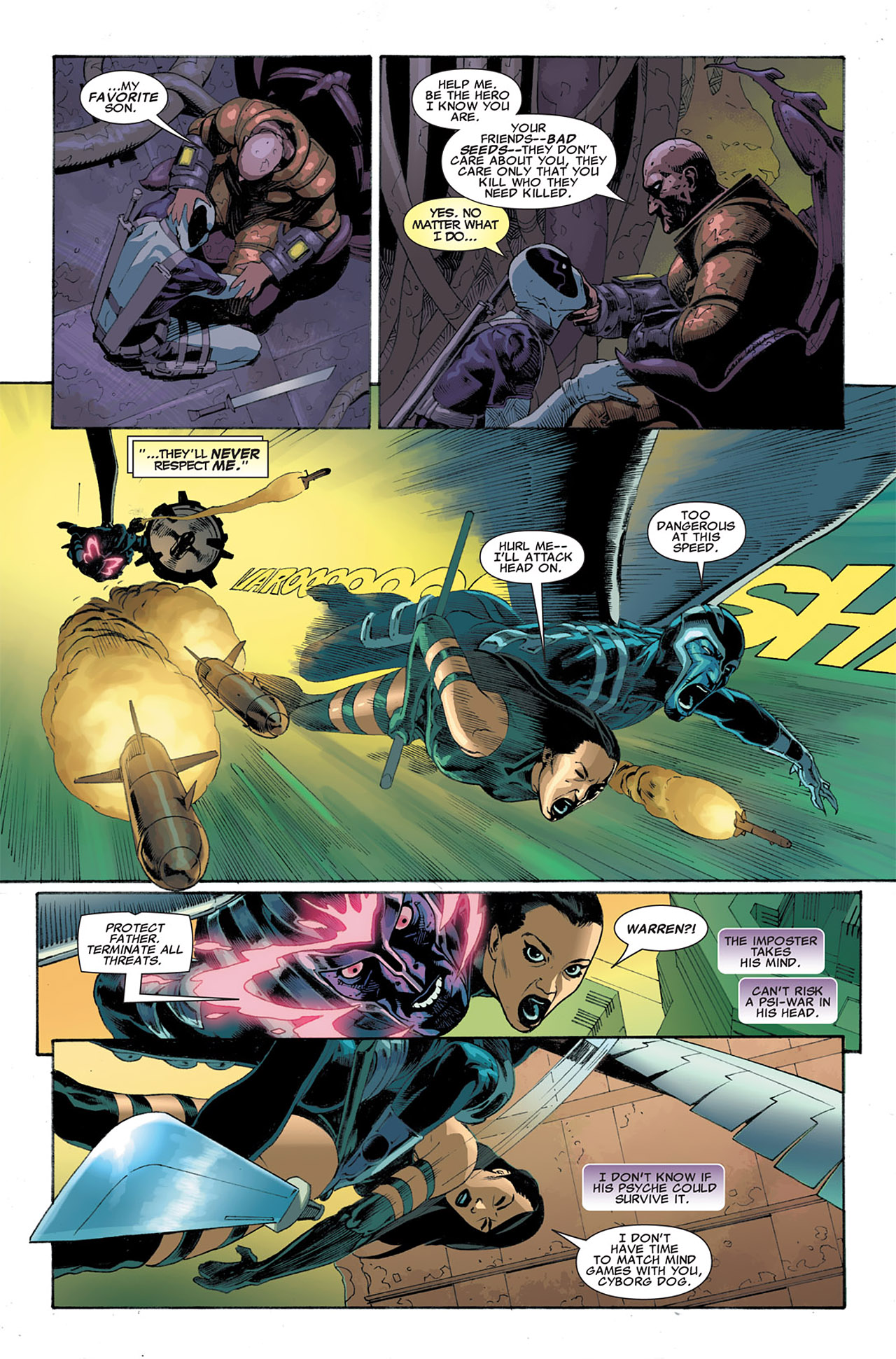 Read online Uncanny X-Force (2010) comic -  Issue #7 - 12