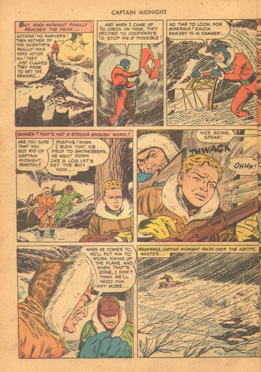 Captain Midnight (1942) issue 61 - Page 8