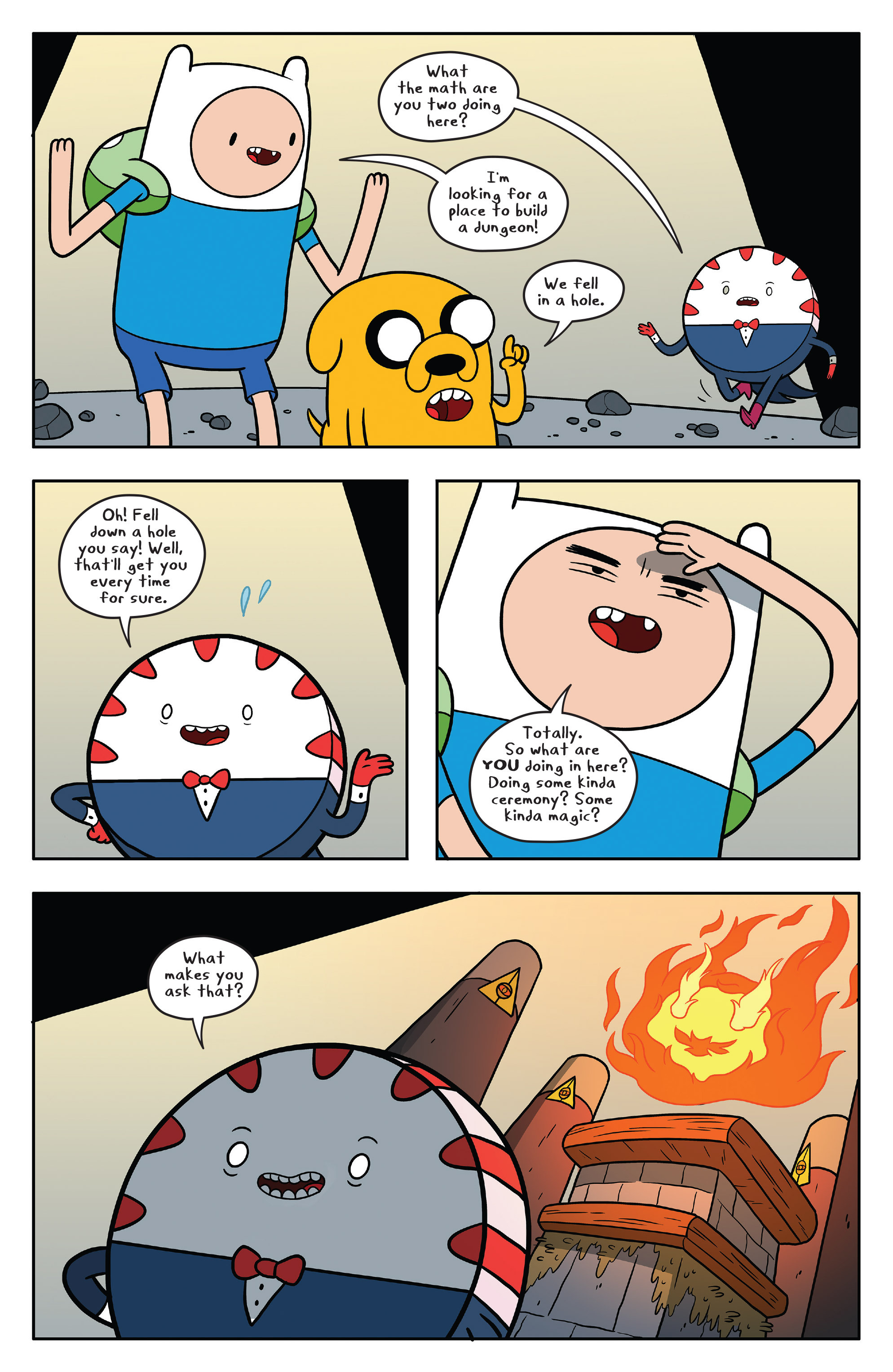 Read online Adventure Time comic -  Issue #58 - 13