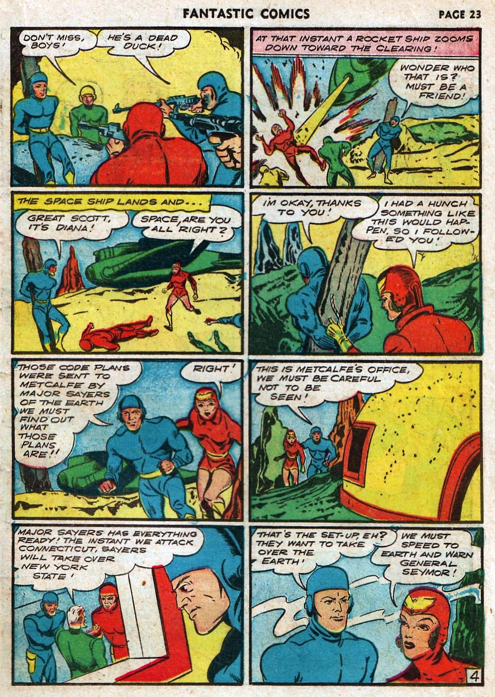 Read online Fantastic Comics comic -  Issue #17 - 25
