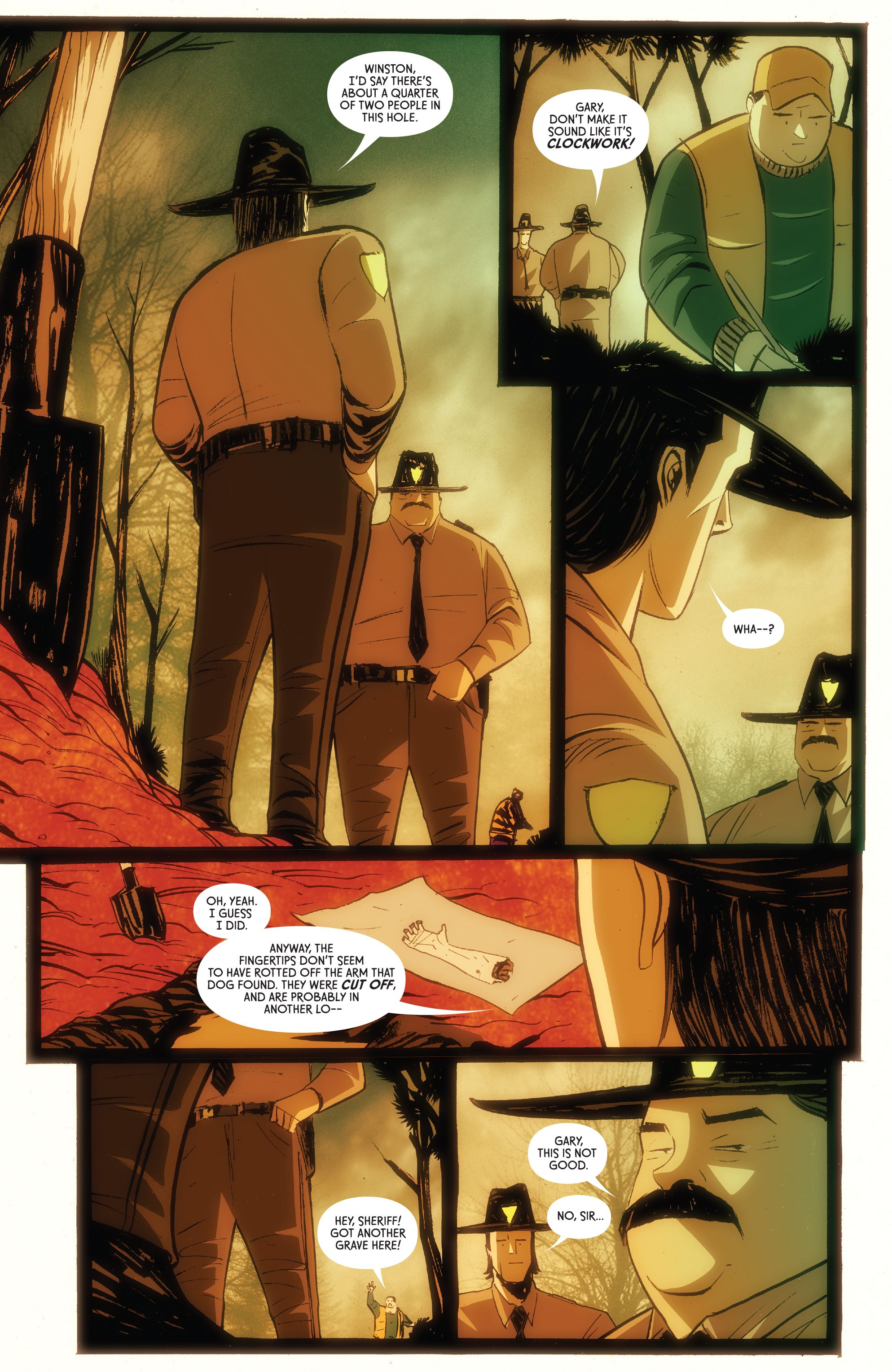 Read online American Monster comic -  Issue #6 - 8