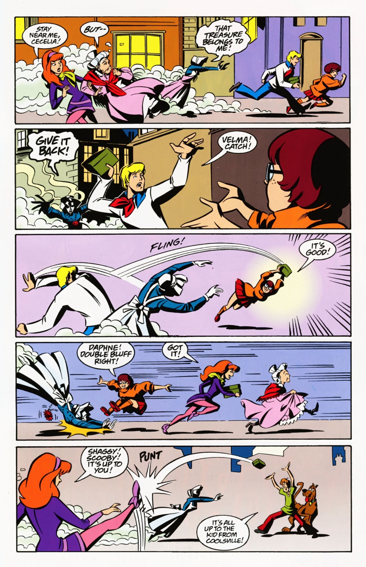 Read online Scooby-Doo: Where Are You? comic -  Issue #8 - 27
