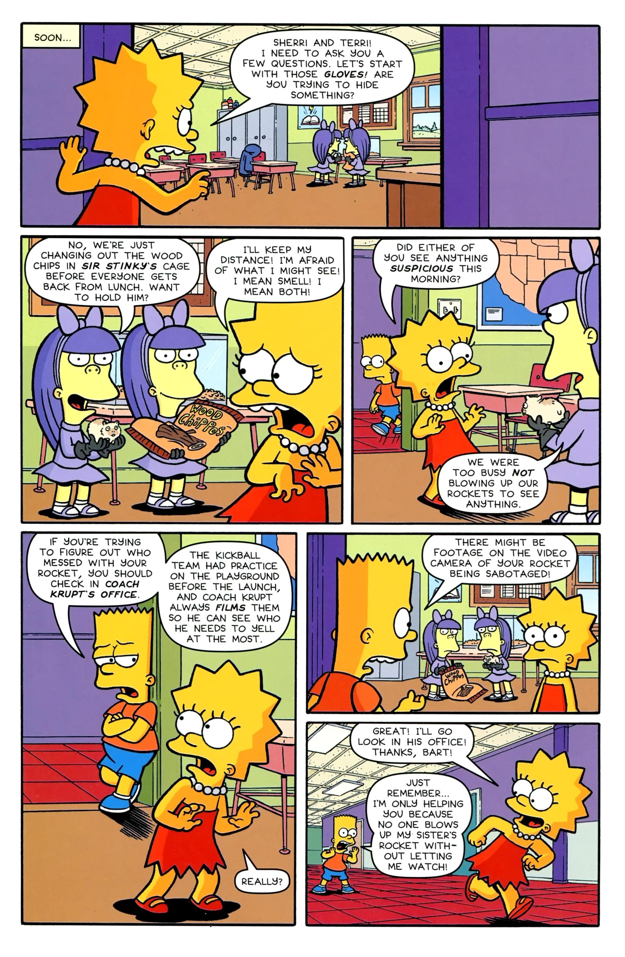 Read online Simpsons Comics comic -  Issue #231 - 20