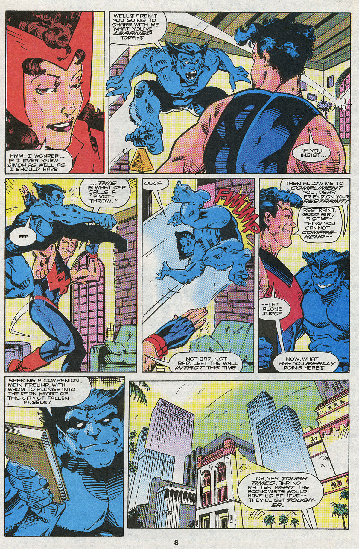 Read online Wonder Man (1991) comic -  Issue #5 - 7