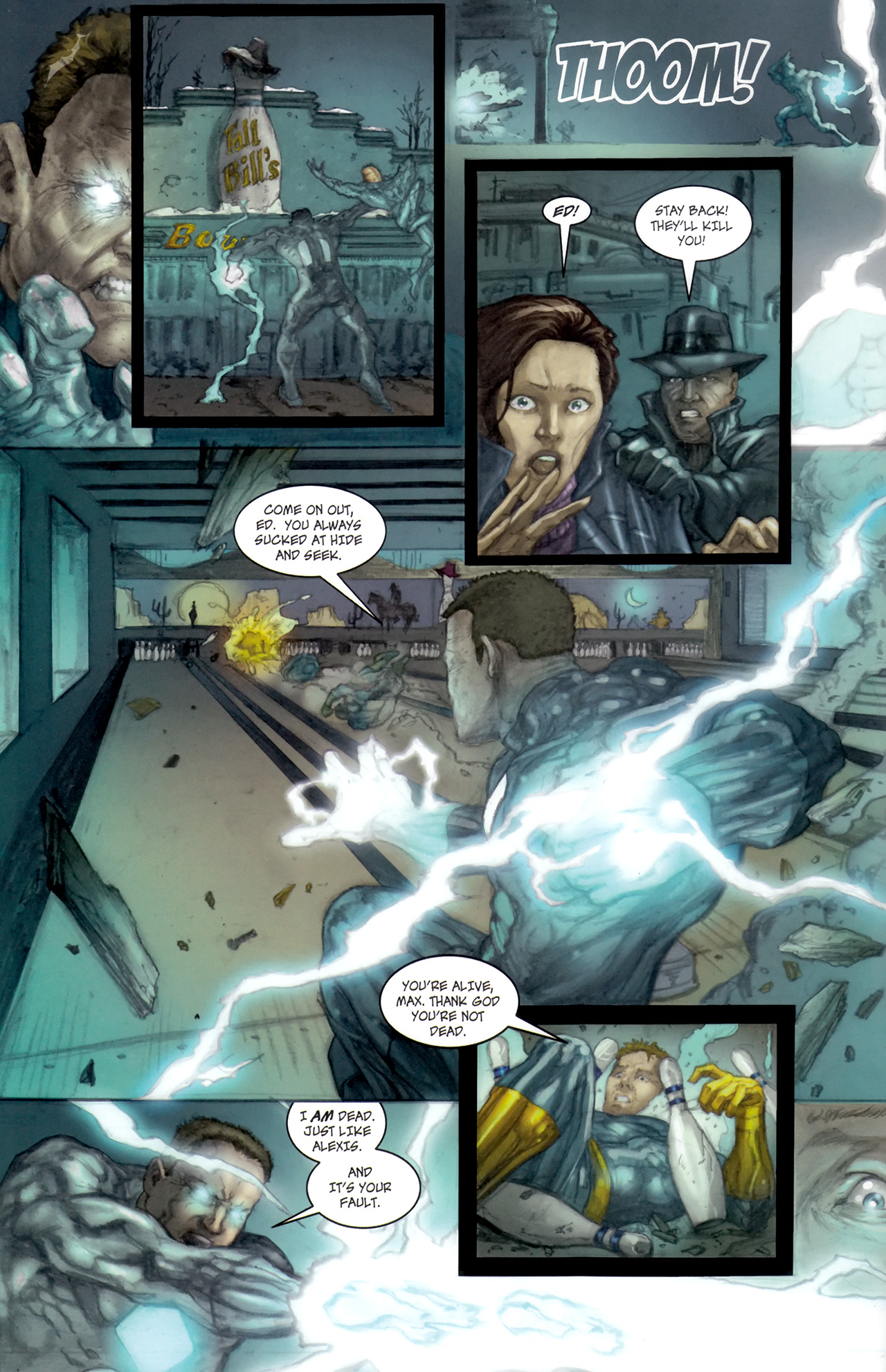 Read online Phoenix comic -  Issue #3 - 5