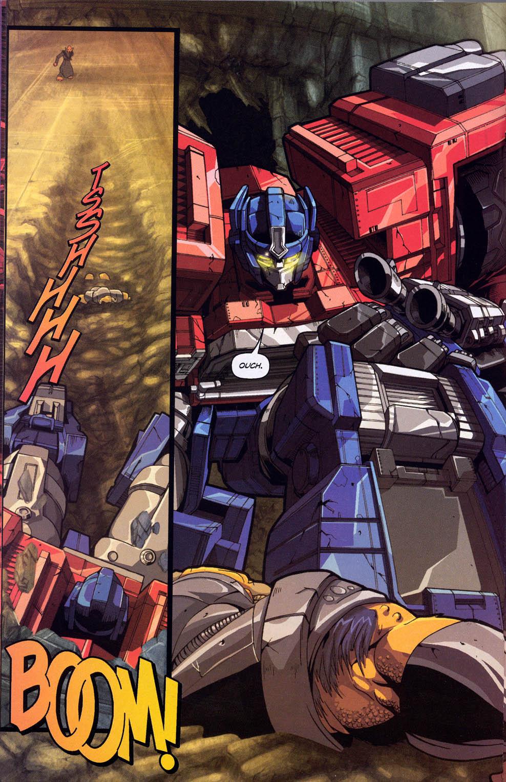 Read online Transformers Armada comic -  Issue #0 - 5