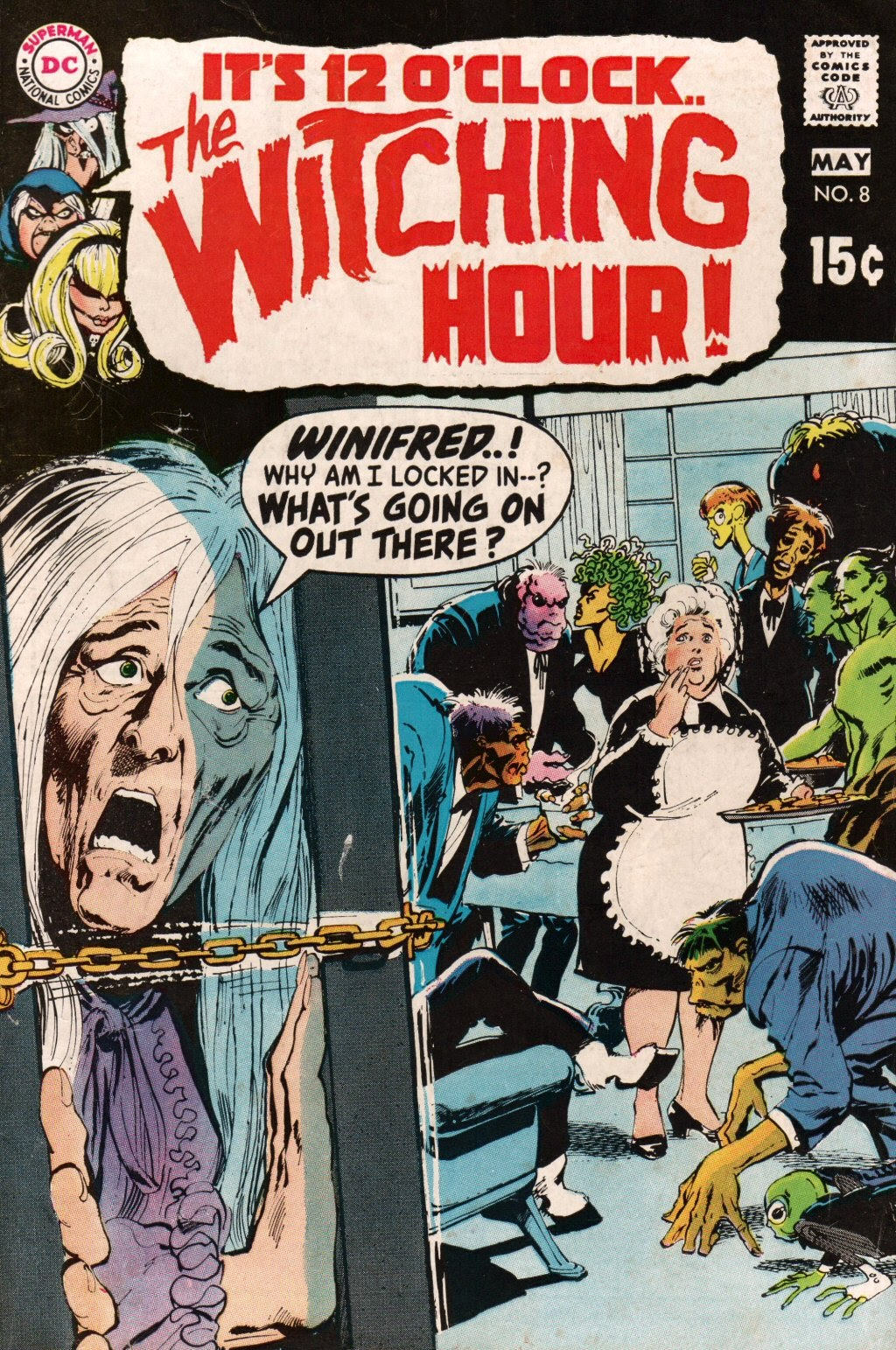 The Witching Hour (1969) issue 8 - Page 1