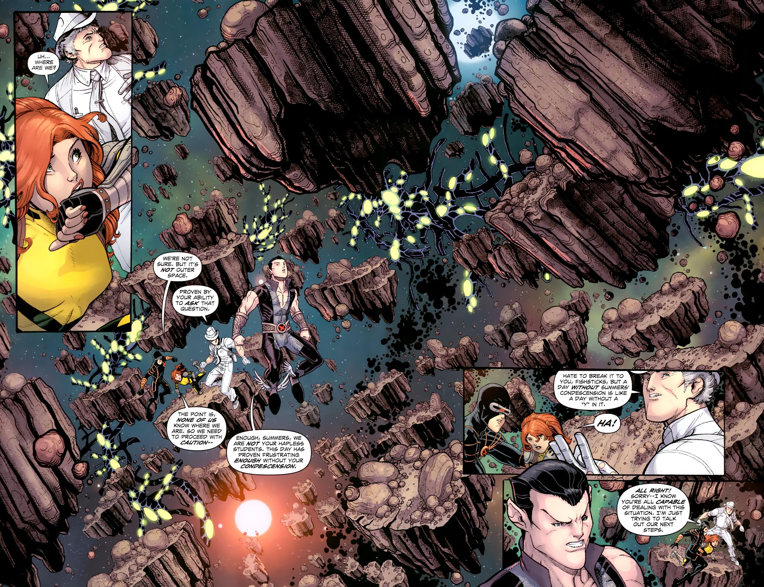 Read online Uncanny X-Men (1963) comic -  Issue # _Annual 3 (2011) - 11