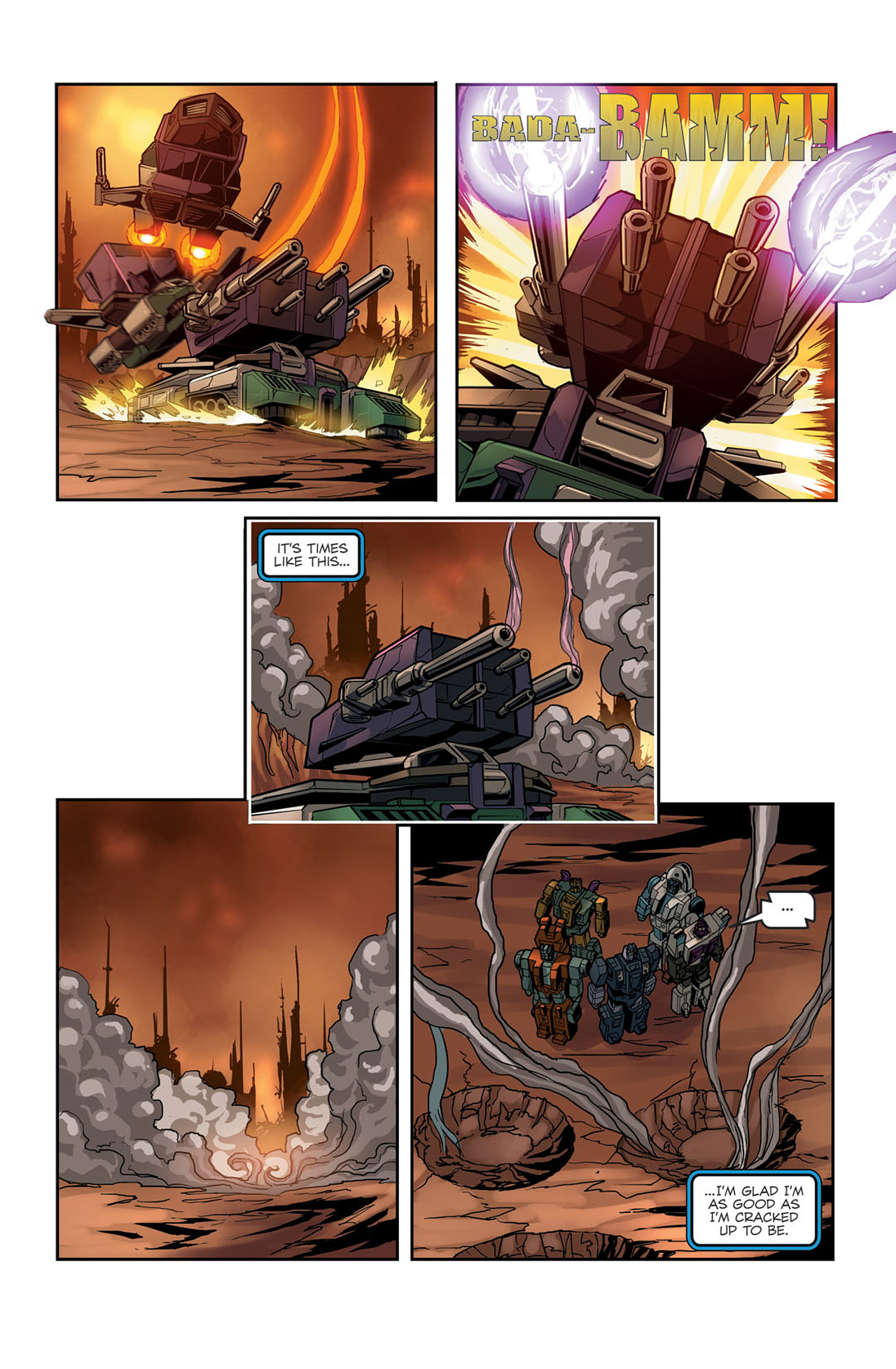 Read online Transformers Spotlight: Sixshot comic -  Issue # Full - 24