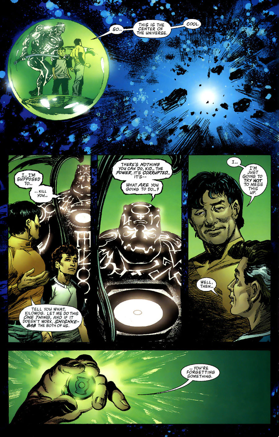 Read online Green Lantern: Legacy: The Last Will and Testament of Hal Jordan comic -  Issue # TPB - 103