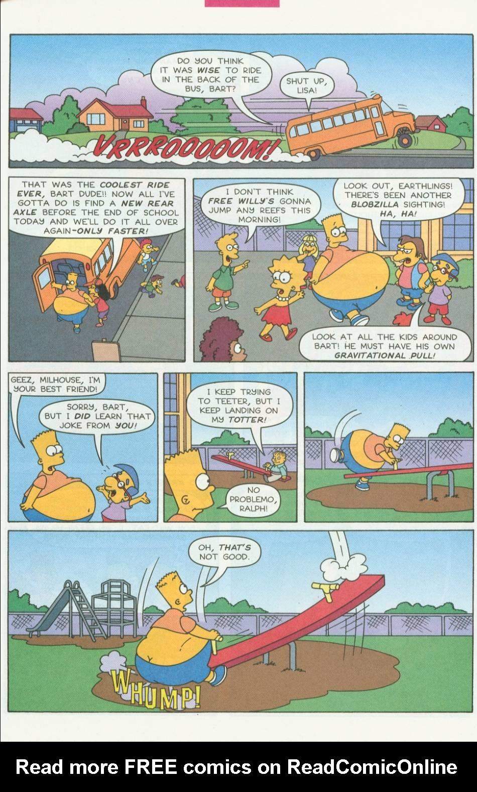 Read online Simpsons Comics Presents Bart Simpson comic -  Issue #1 - 8