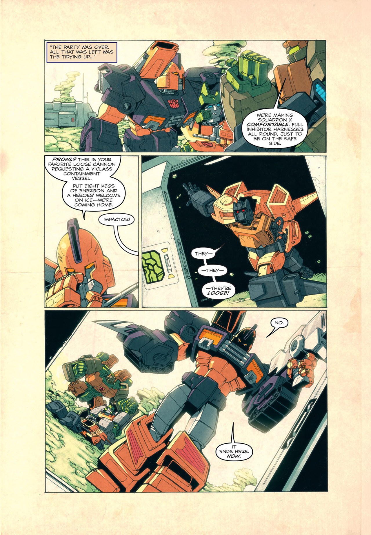 Read online Transformers: Last Stand of The Wreckers comic -  Issue #4 - 14