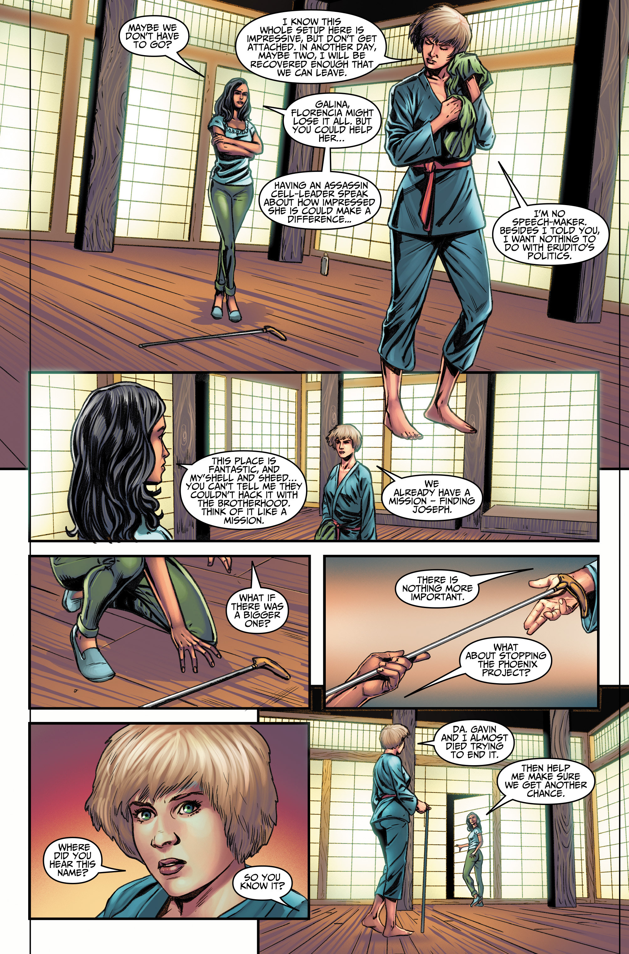 Read online Assassin's Creed (2015) comic -  Issue #11 - 13