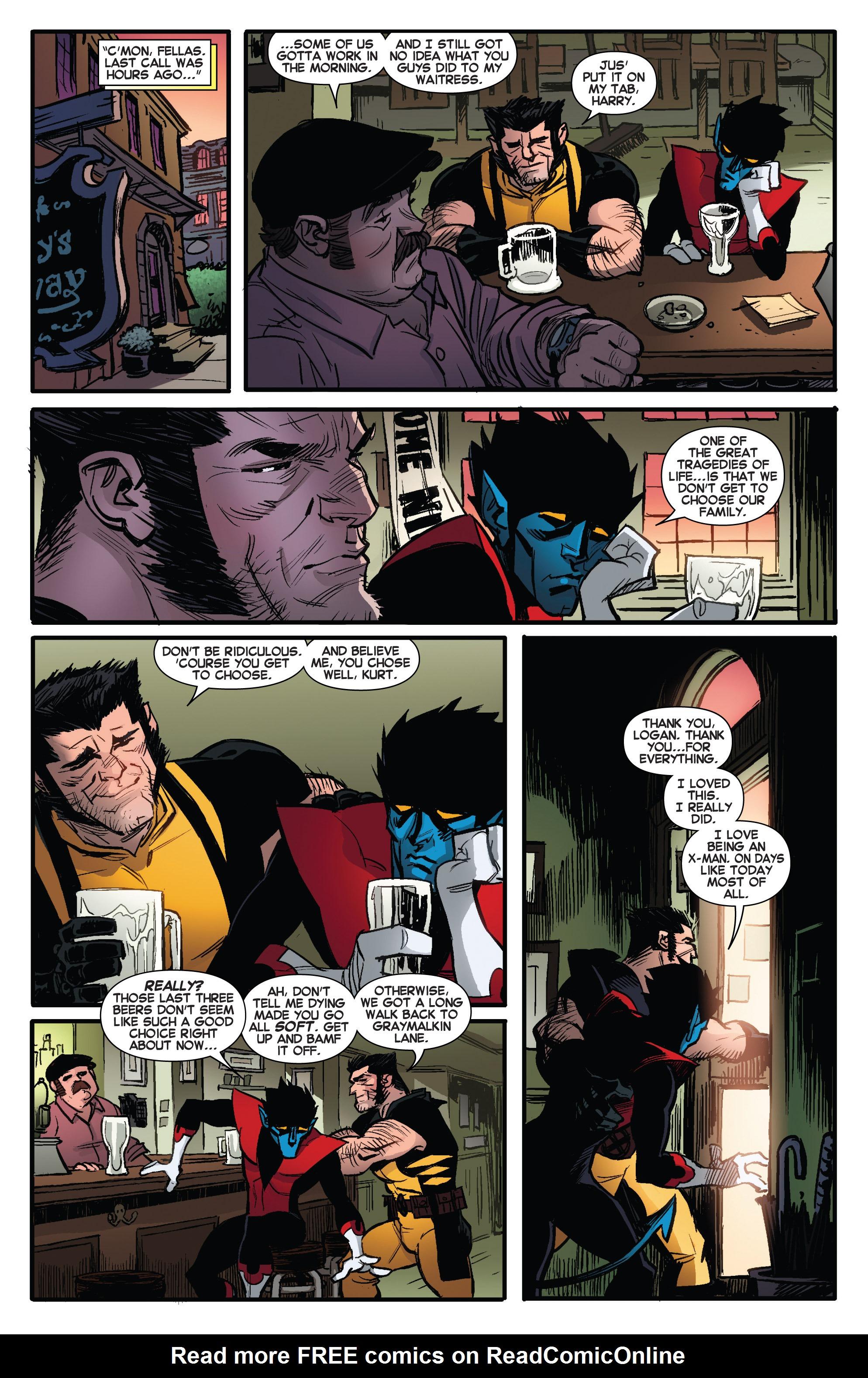 Read online Amazing X-Men (2014) comic -  Issue #6 - 21