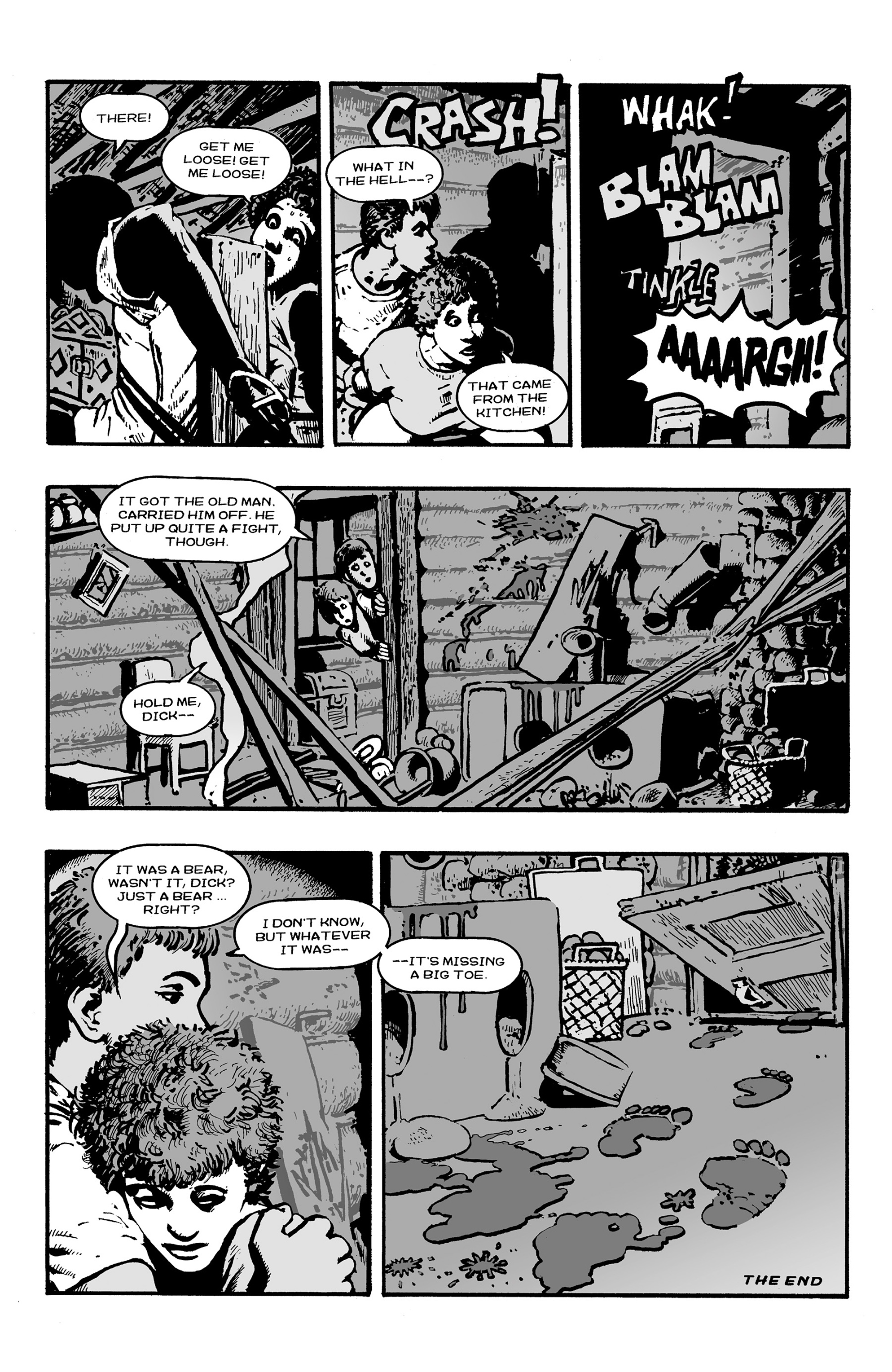 Read online Shadows on the Grave comic -  Issue #3 - 22