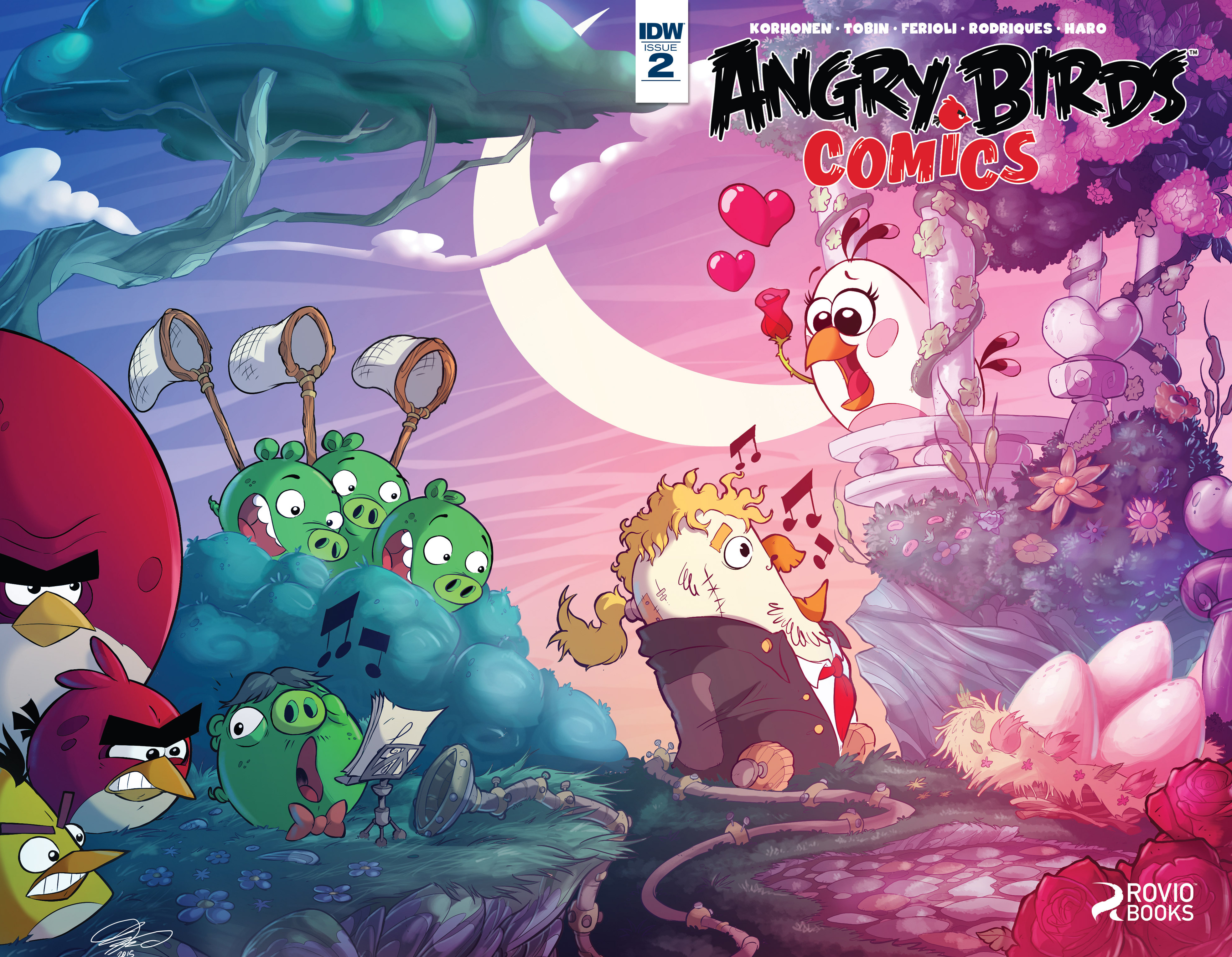 Read online Angry Birds Comics (2016) comic -  Issue #2 - 1