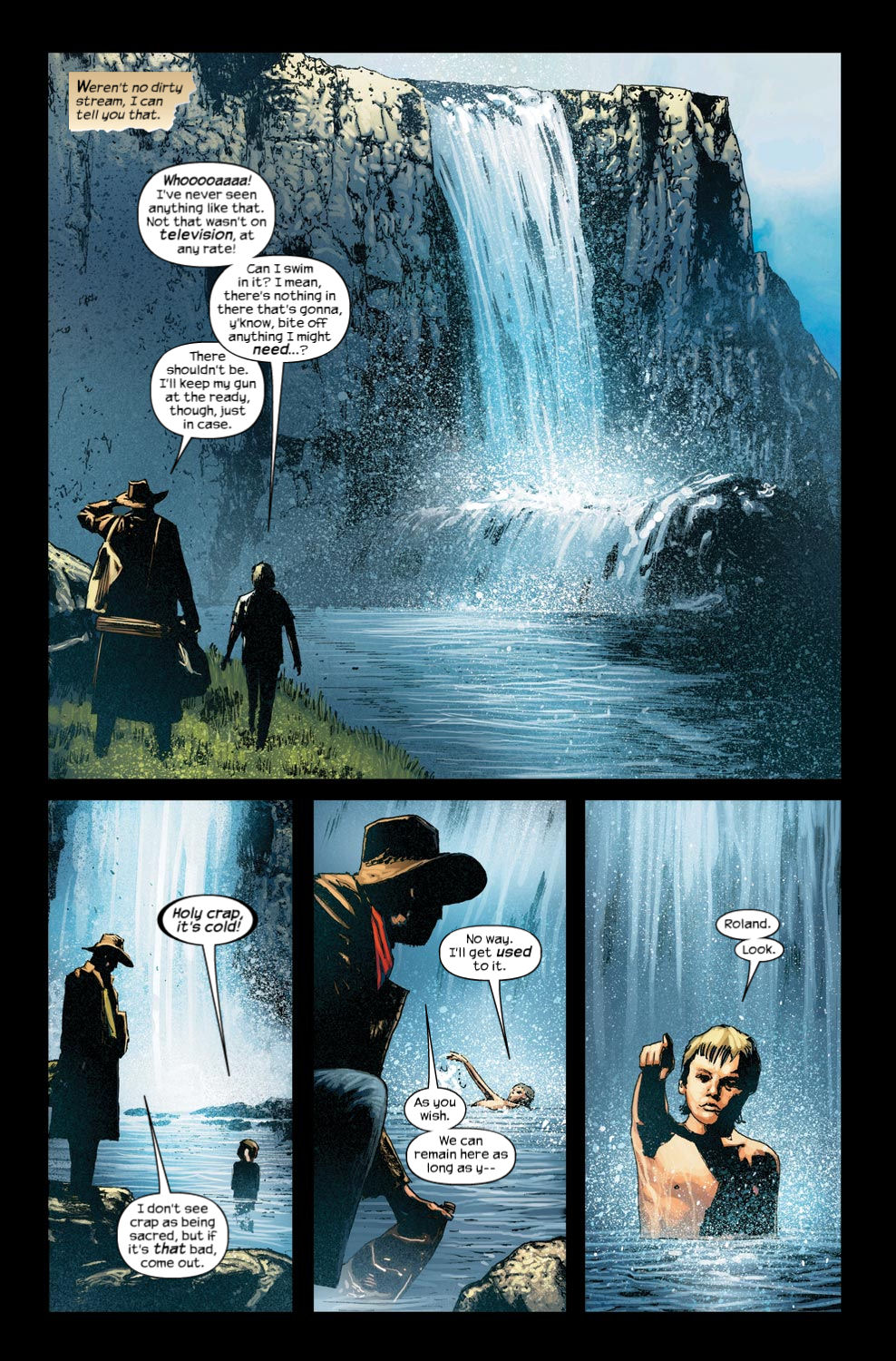 Read online Dark Tower: The Gunslinger - The Way Station comic -  Issue #4 - 9