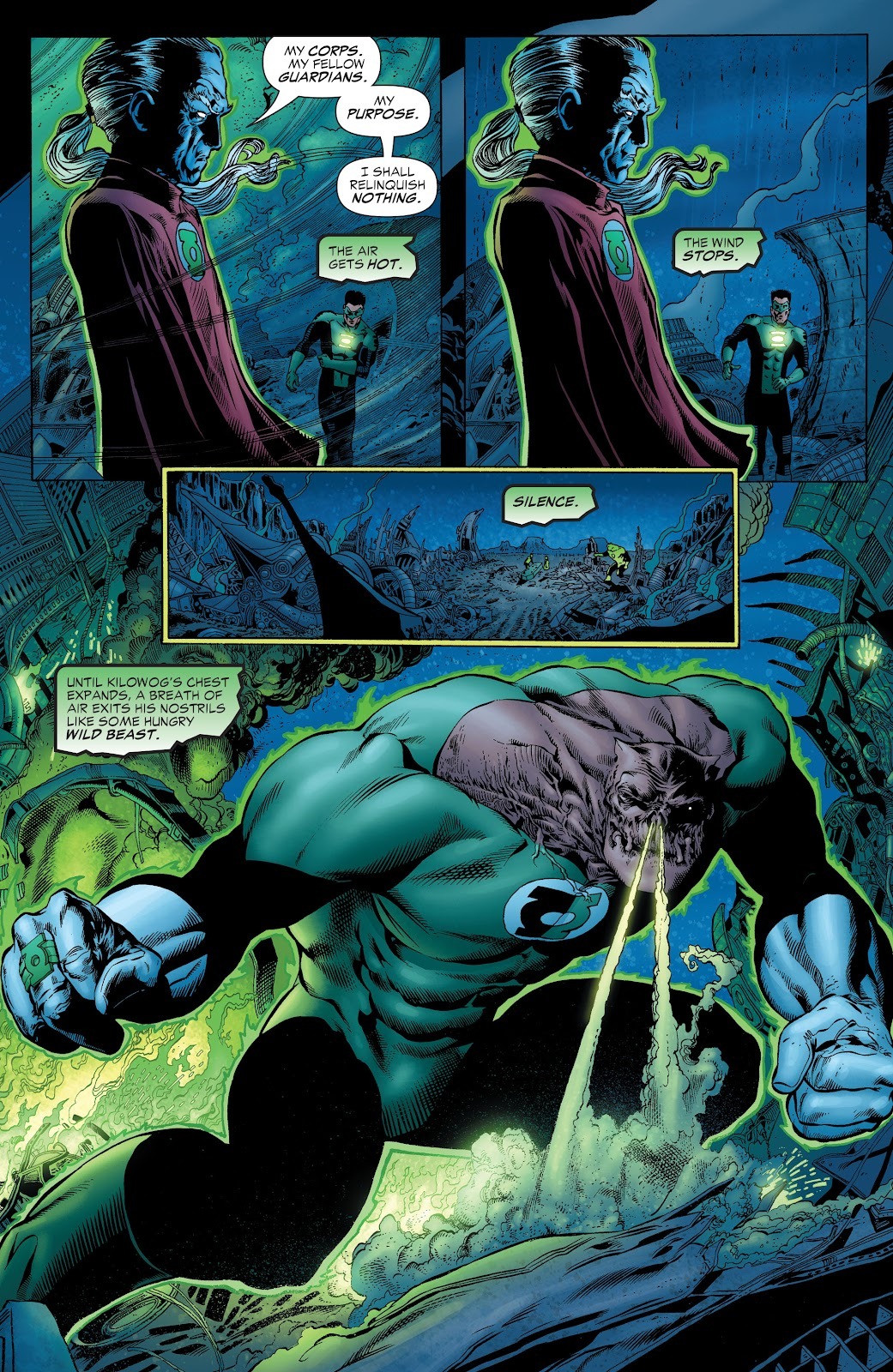 Read online Green Lantern by Geoff Johns comic -  Issue # TPB 1 (Part 1) - 68