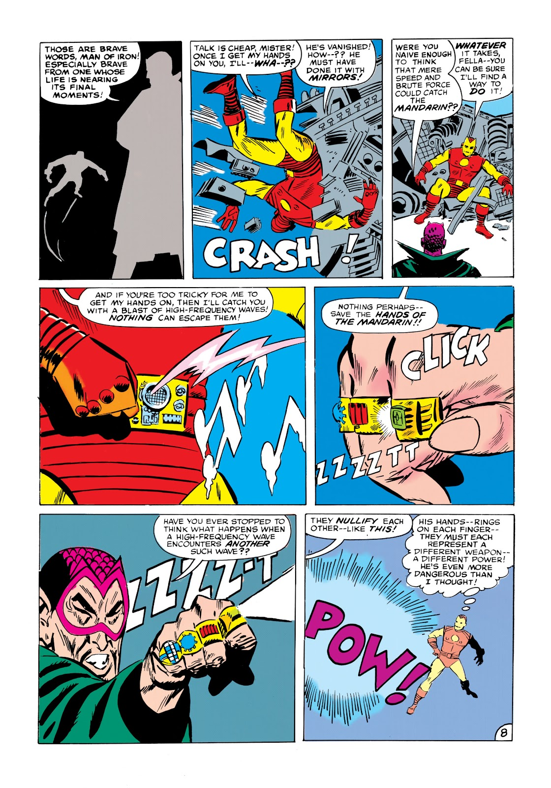Read online Marvel Masterworks: The Invincible Iron Man comic -  Issue # TPB 1 (Part 2) - 85