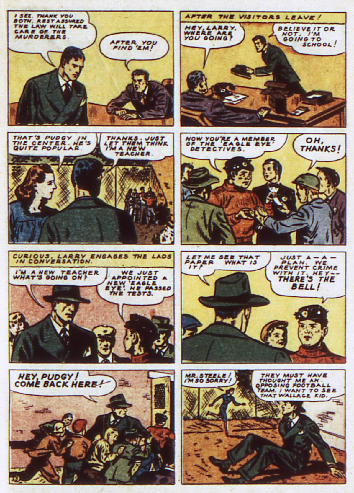 Read online Detective Comics (1937) comic -  Issue #52 - 33