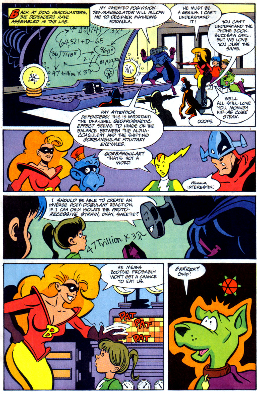 Read online Defenders of Dynatron City comic -  Issue #1 - 15