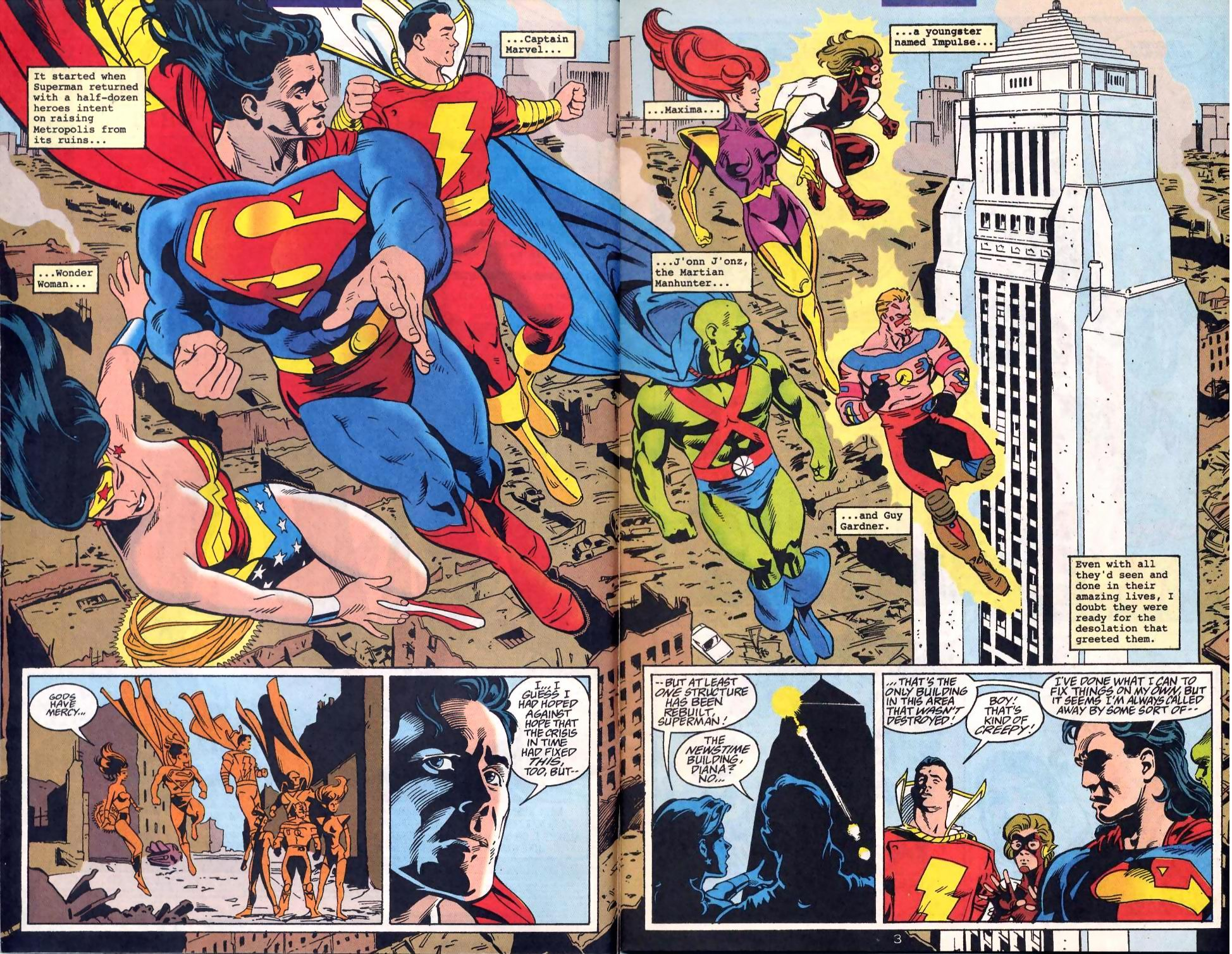 Read online Adventures of Superman (1987) comic -  Issue #522 - 3