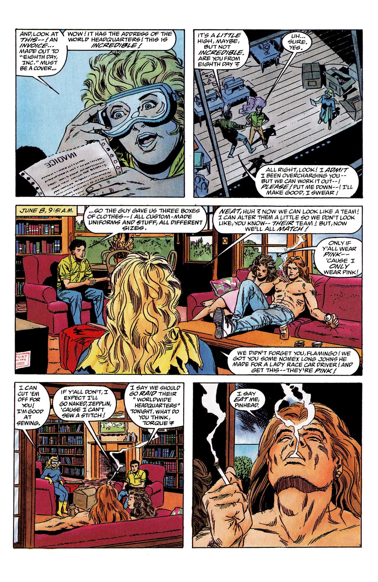 Read online Harbinger (1992) comic -  Issue #2 - 15