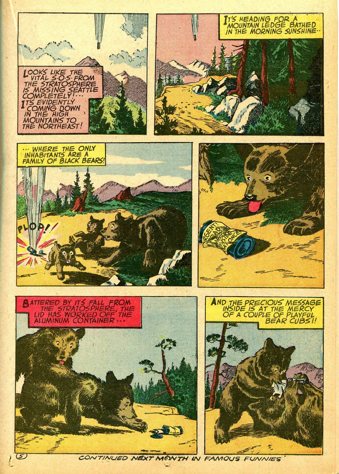 Read online Famous Funnies comic -  Issue #108 - 29