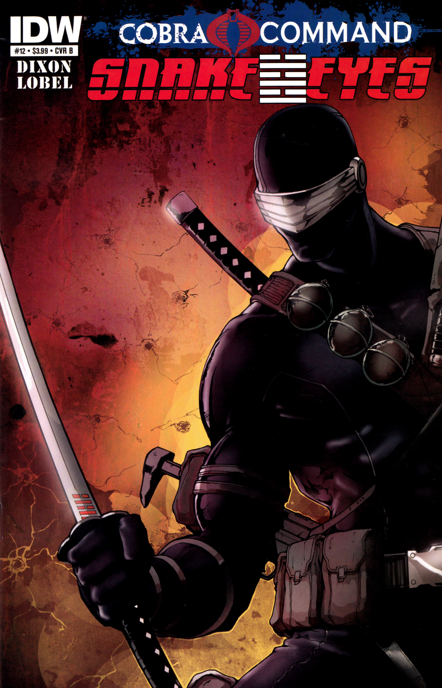 Read online G.I. Joe: Snake Eyes comic -  Issue #12 - 2