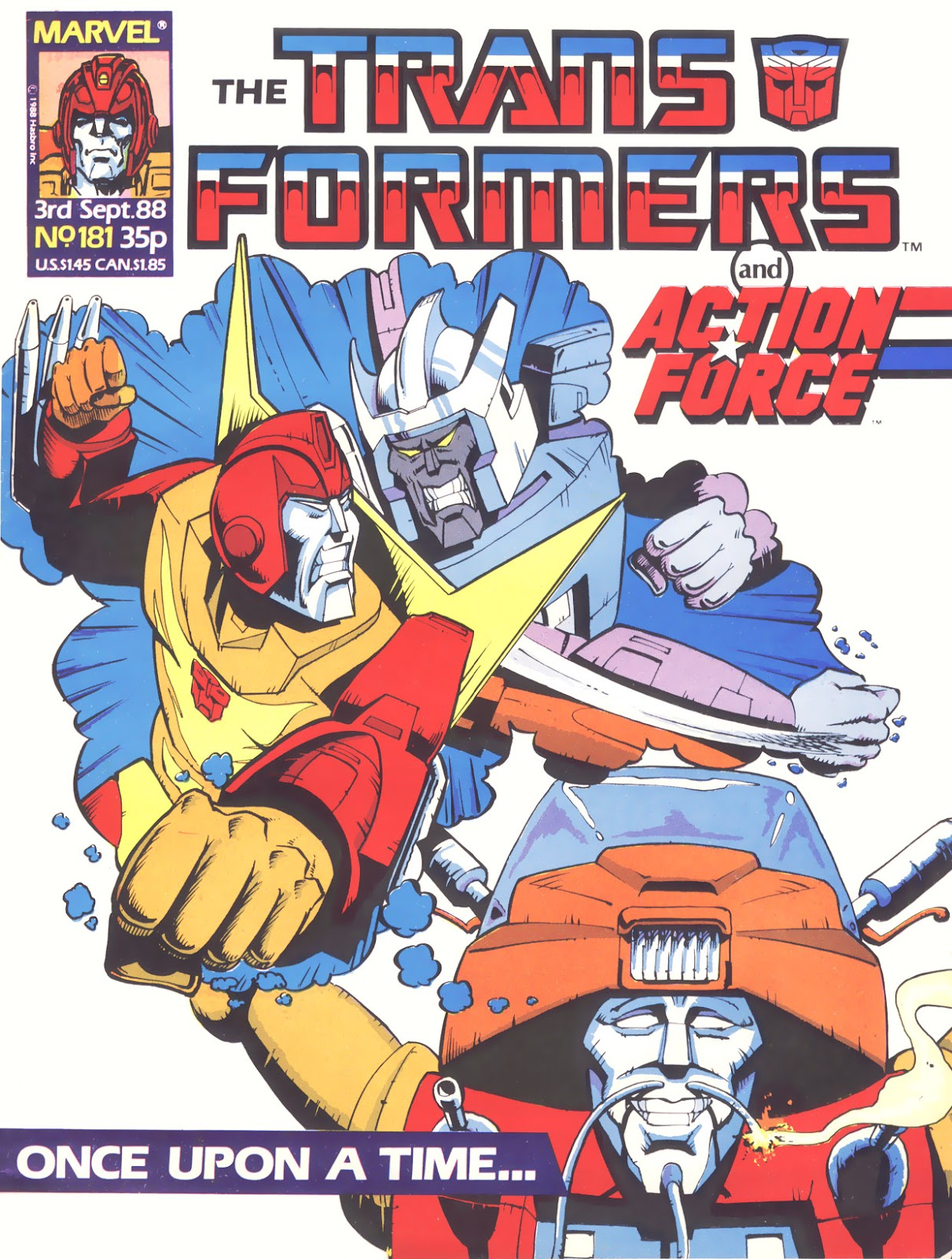 The Transformers (UK) 181 Page 1