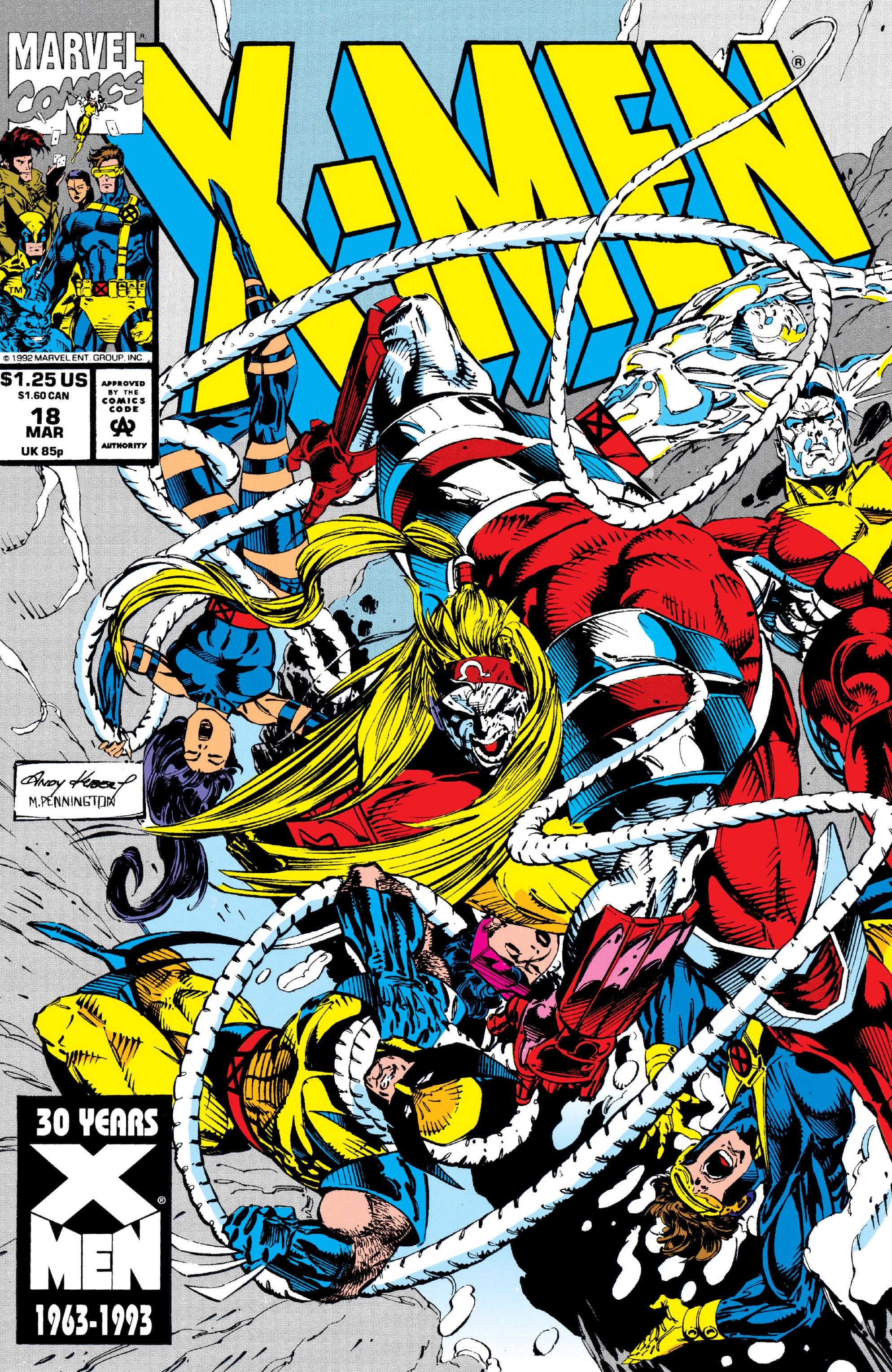 X-Men (1991) 18 Page 0