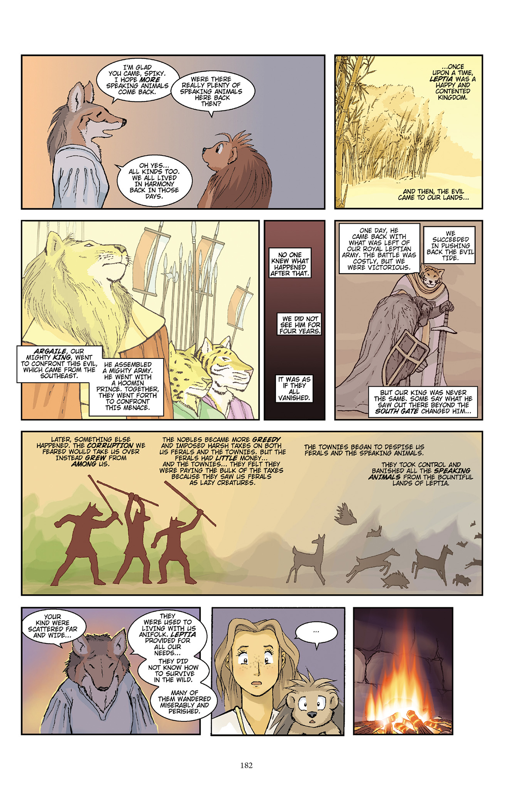 Read online Courageous Princess comic -  Issue # TPB 1 - 180