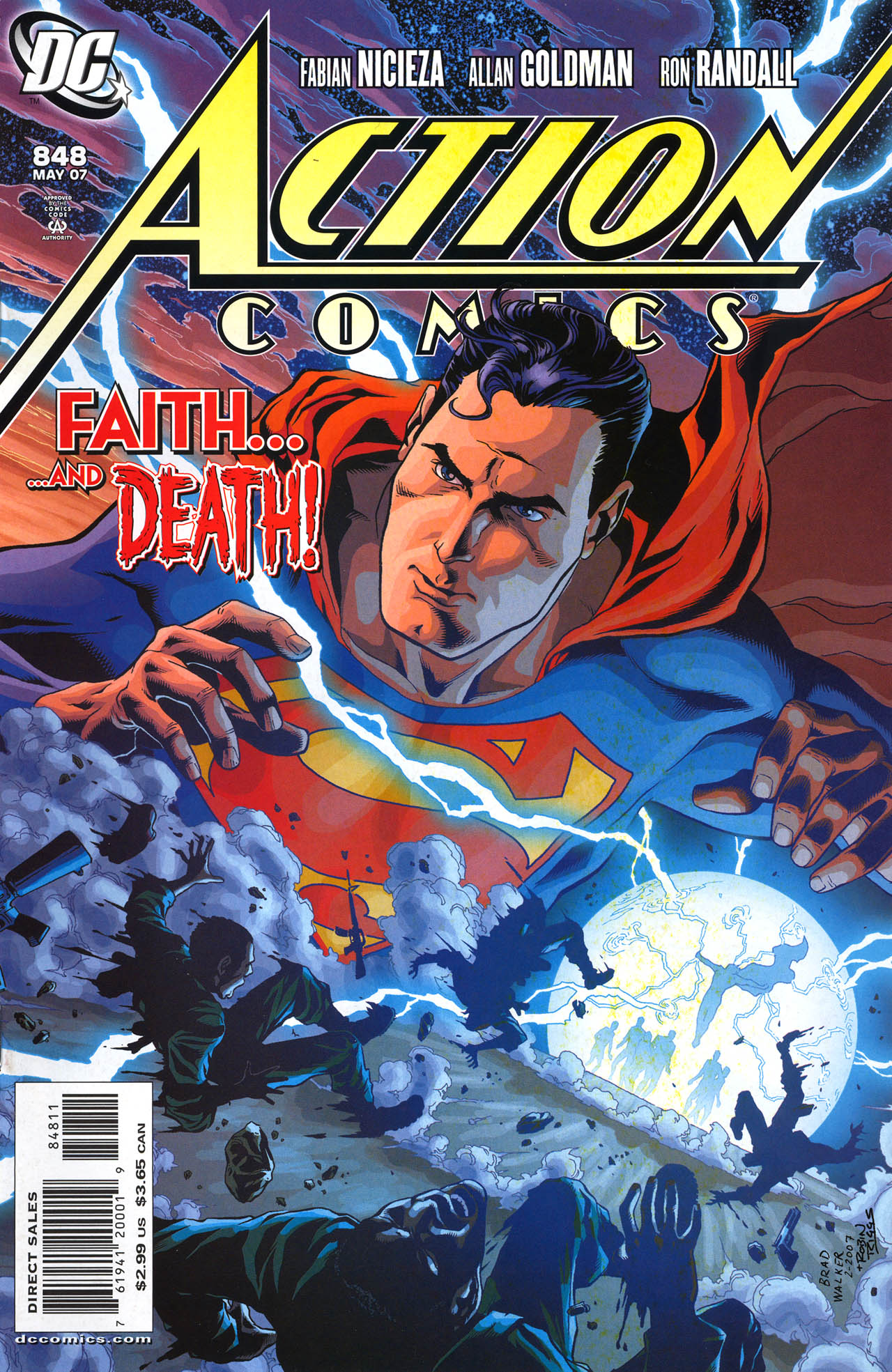 Read online Action Comics (1938) comic -  Issue #848 - 1
