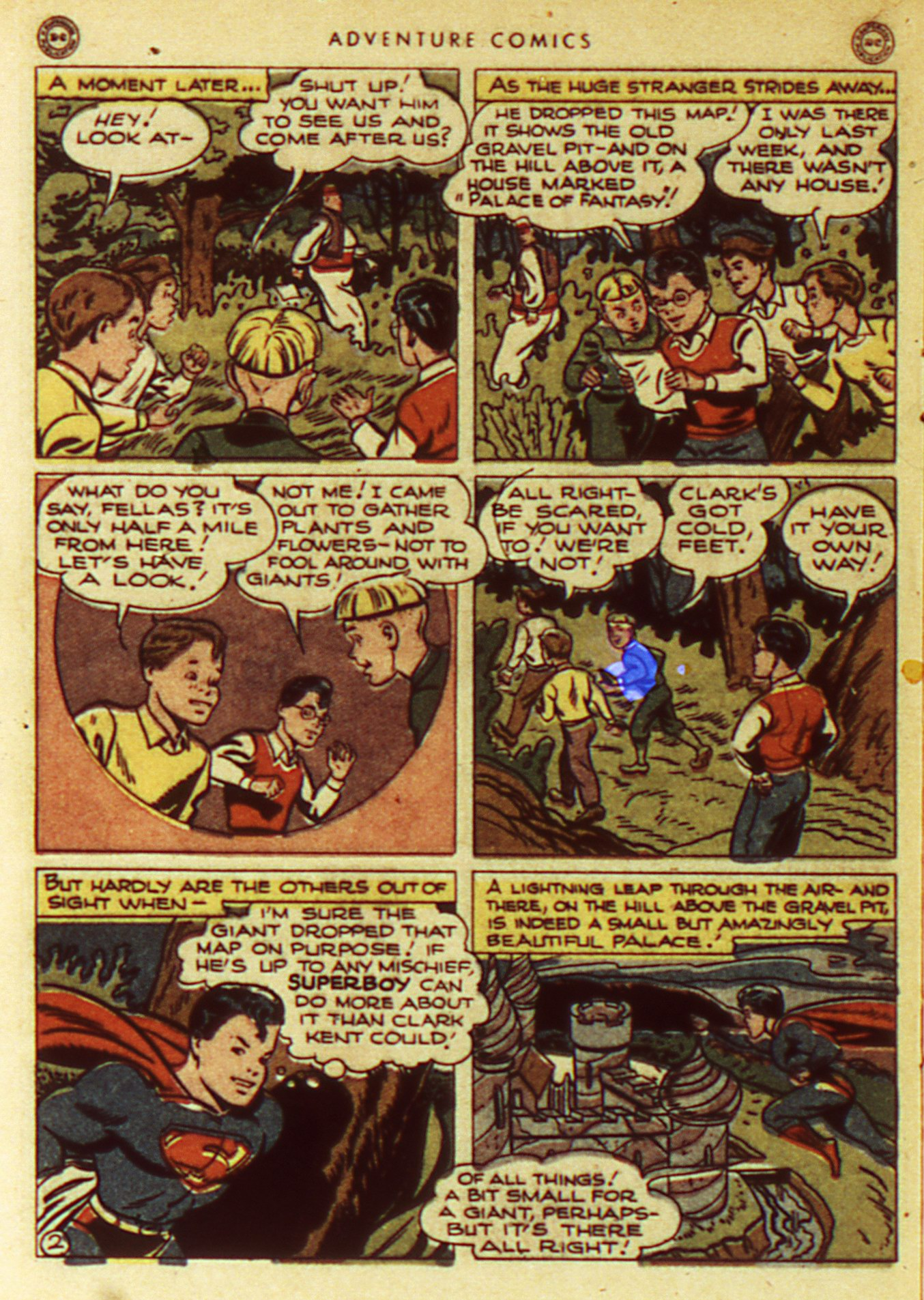 Read online Adventure Comics (1938) comic -  Issue #105 - 4
