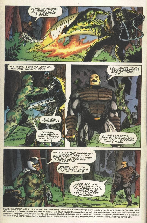 Read online Secret Weapons comic -  Issue #14 - 3