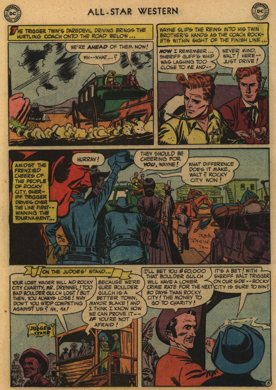 Read online All-Star Western (1951) comic -  Issue #60 - 5