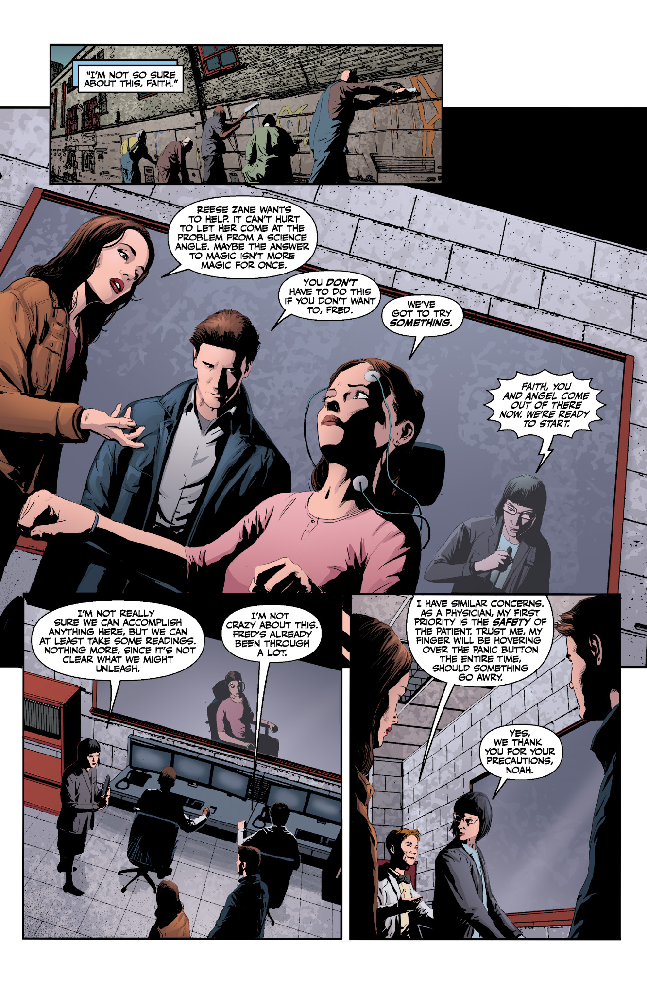 Read online Angel & Faith Season 10 comic -  Issue #13 - 8