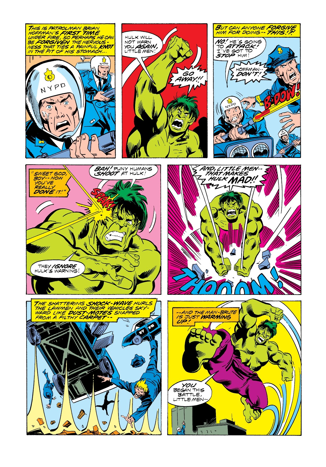 Read online Marvel Masterworks: The Incredible Hulk comic -  Issue # TPB 12 (Part 3) - 23