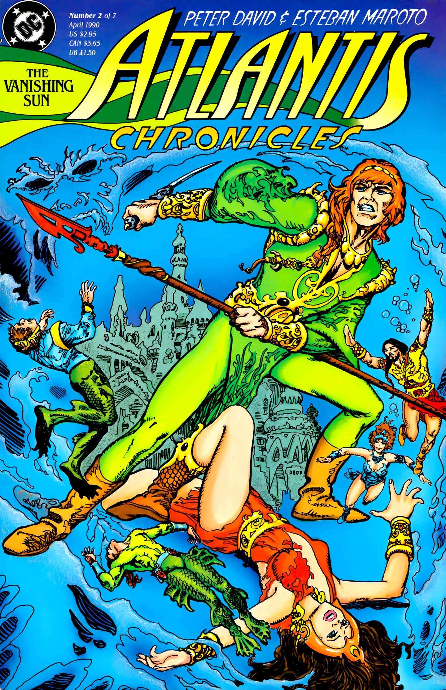 Read online Atlantis Chronicles comic -  Issue #2 - 1