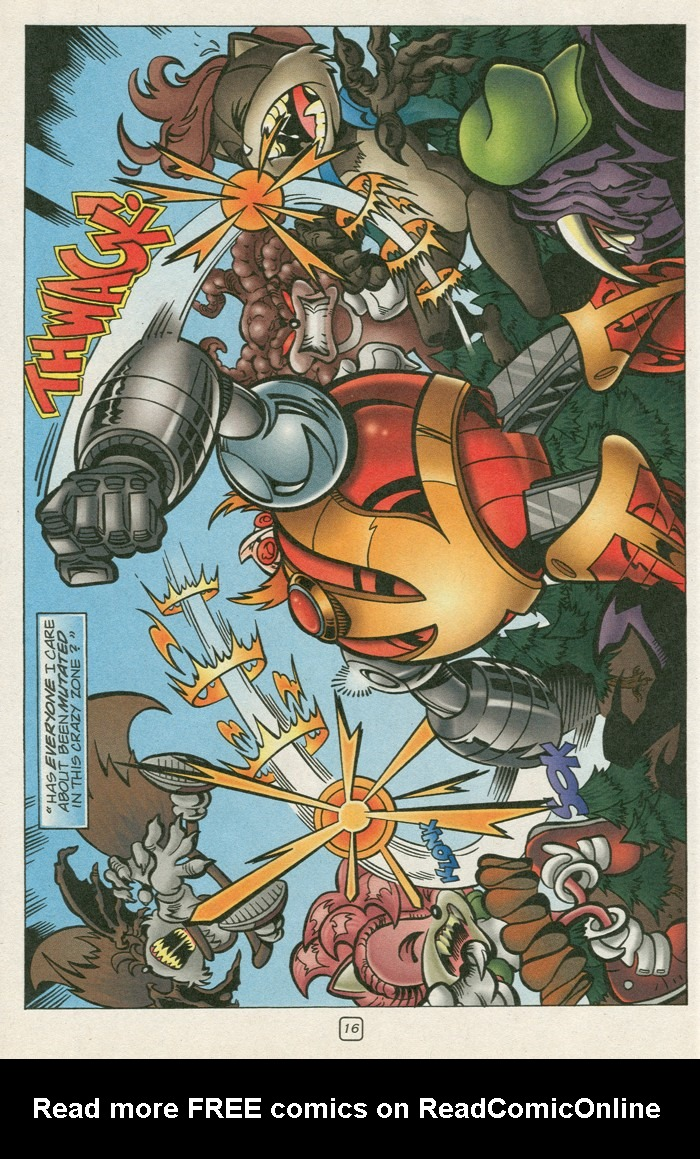 Read online Sonic Super Special comic -  Issue #12 - Sonic and Knuckles visa versa - 33