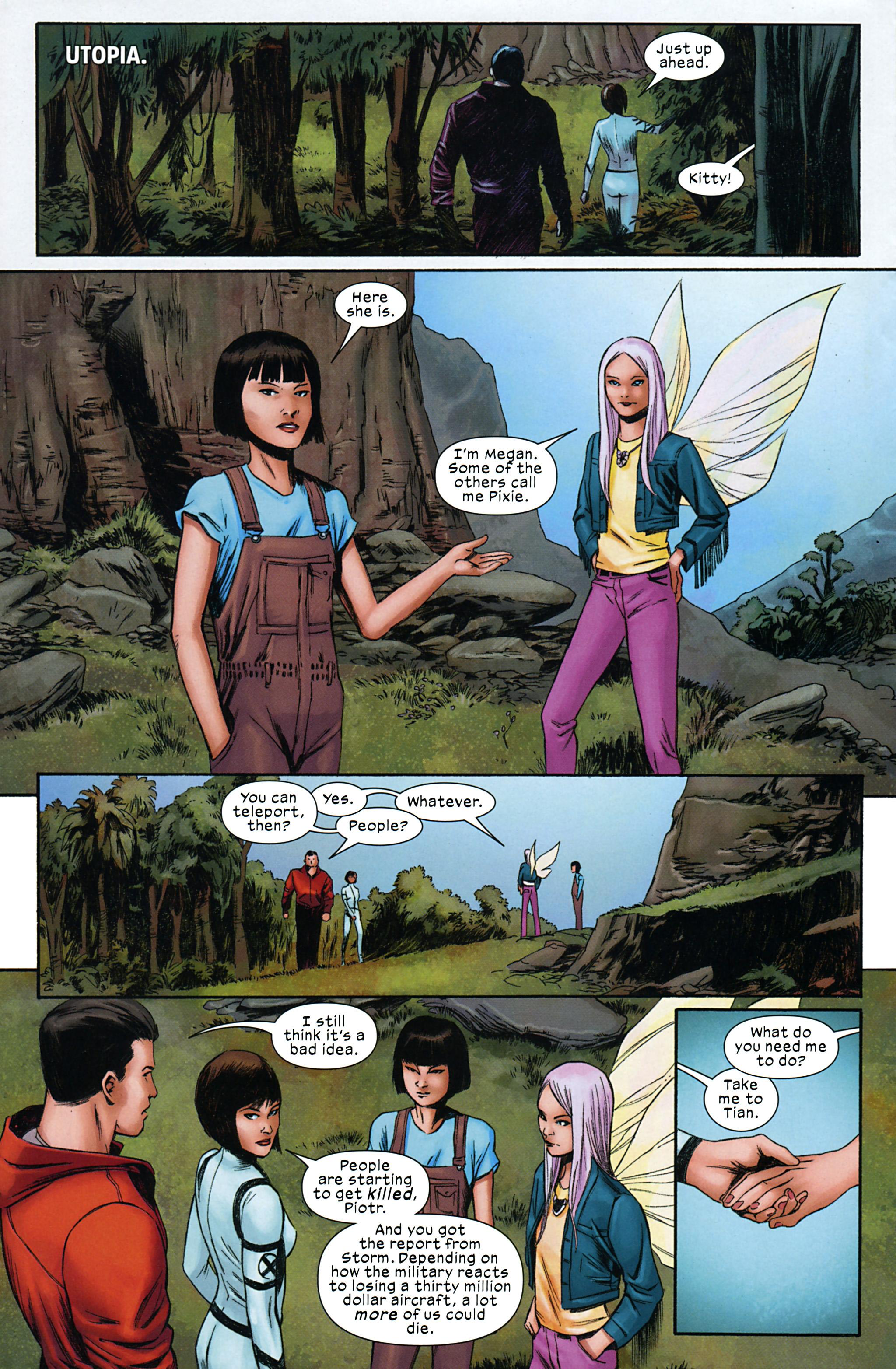 Read online Ultimate Comics X-Men comic -  Issue #32 - 18