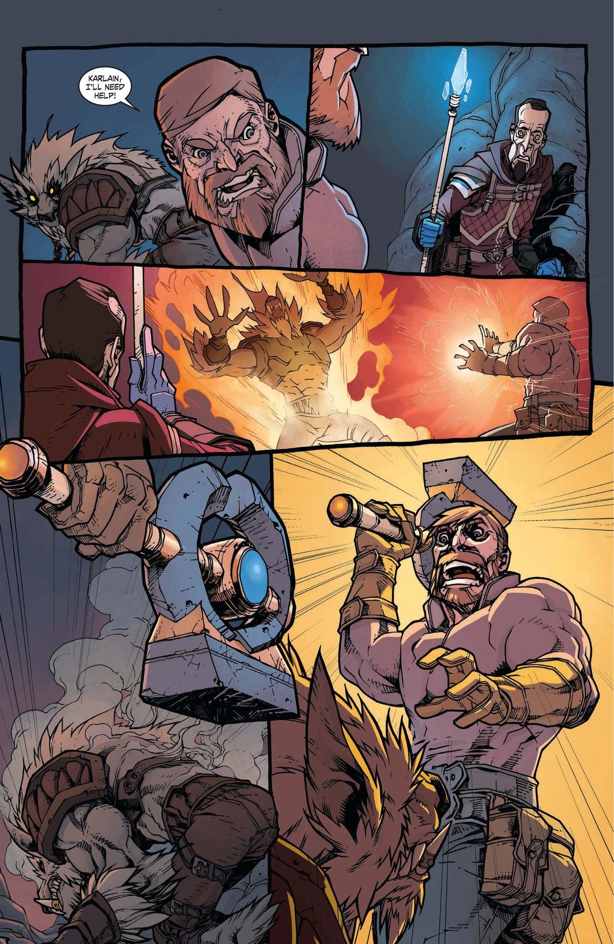 Read online World of Warcraft: Dark Riders comic -  Issue # Full - 72